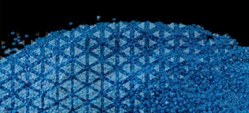 granule albastre