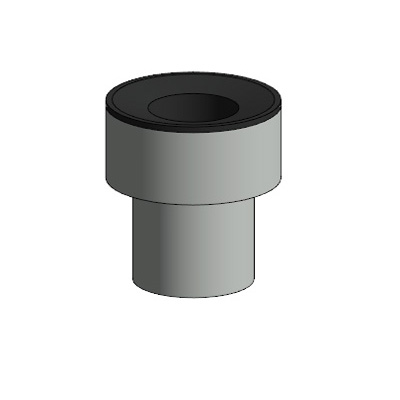 Adaptor tehnic PP cu garnitura adaptor PP otel